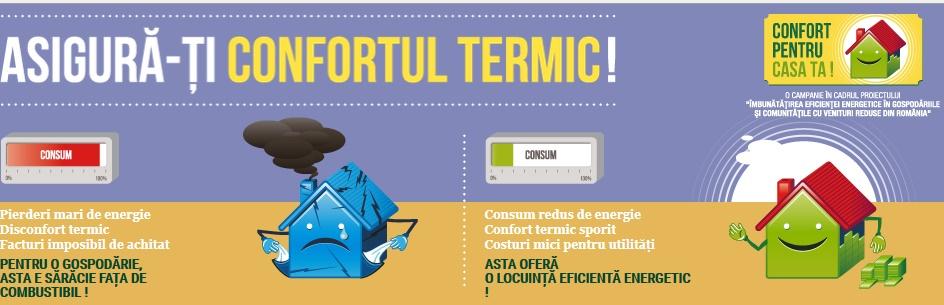 asigura confort termic
