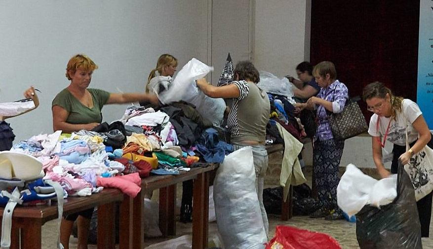 Acțiune caritabilă în favoarea familiilor sărace din satul Nuntași, județul Constanța
