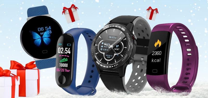 Modele de smartwatch și brățări smart ieftine – cele mai căutate cadouri de Sărbători, la PretzMic.ro