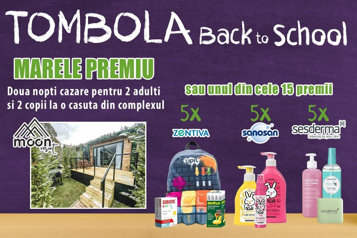 SpringFarma te trimite la MOONte! Back to School și o tombolă cu premii